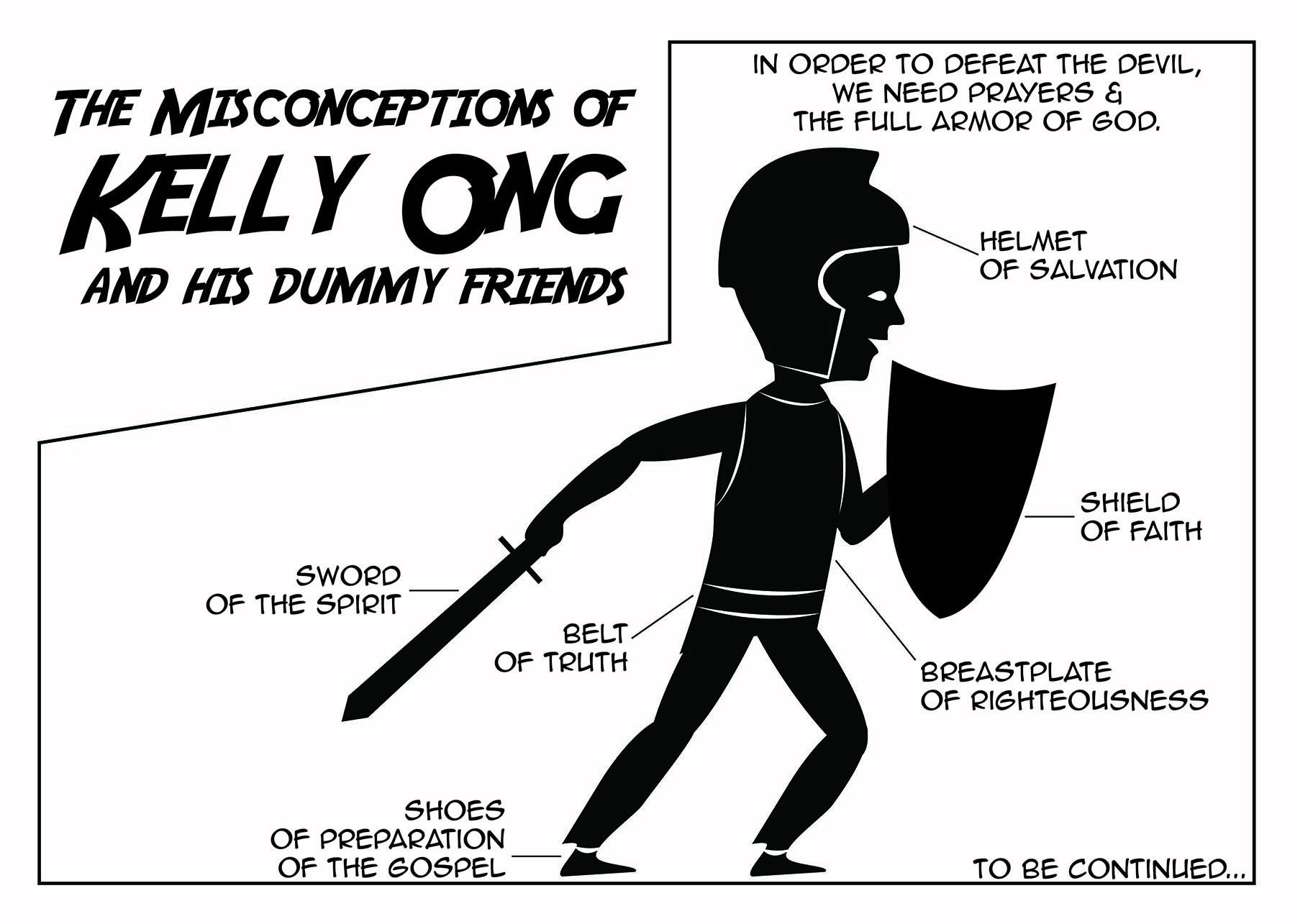 the misconceptions of kelly ong and his dummy friends comic series